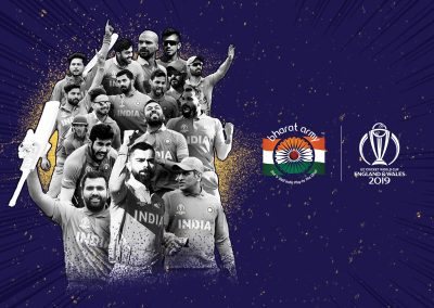 The Bharat Army Cricket World Cup social media content 2019