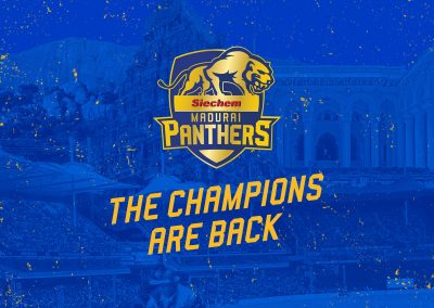 Siechem Madurai Panthers social media content 2019