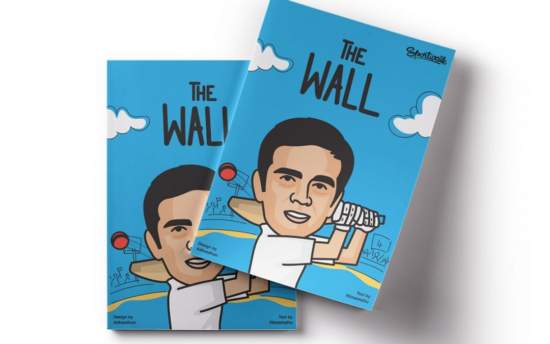 Sportwalk to publish 'THE WALL' – A Comic book on Rahul Dravid