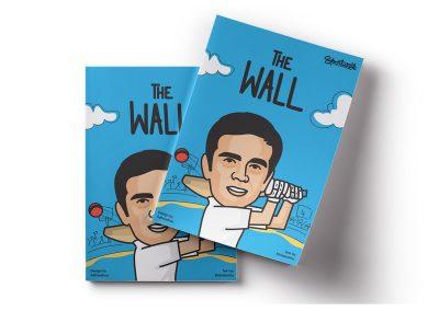 THE WALL – A Comic book on Rahul Dravid