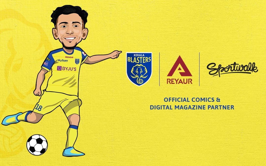 Sportwalk launches a comic book on Kerala Blasters – Yennum Yellow, in association with the club and Reyaur Sports!