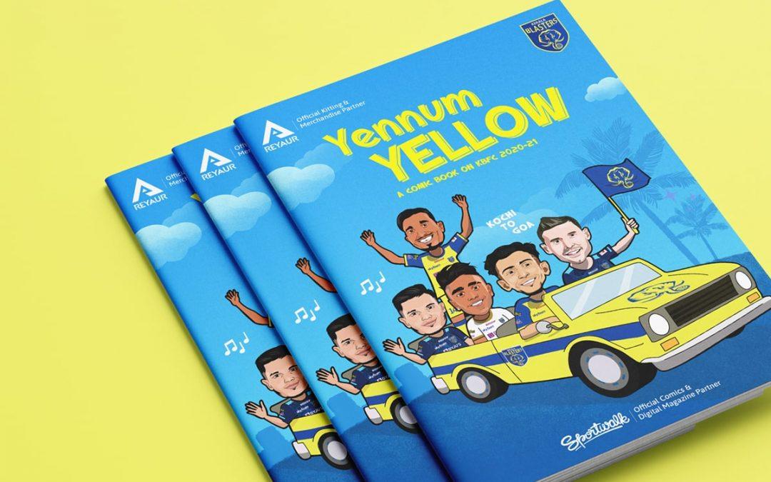 #YennumYellow – A comic book on Kerala Blasters FC