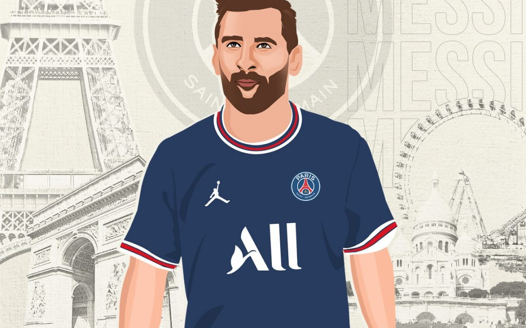In the Champagne region of France, Lionel Messi has been royally coronated in Ligue 1